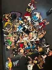 Vintage WWF / WWE/ WCW Jakks & Titan sports Wrestler Figures Lot and accessories