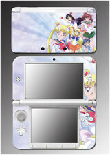 Sailor Moon Mars Venus Mercury Shining Video Game Skin Decal for Nintendo 3DS XL
