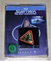Star Trek The Next Generazione Stagione 6 Limitata steelbook + Pin blu ray Nuovo