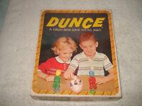 VINTAGE 1955 DUNCE GAME COMPLETE NICE SCHAPER