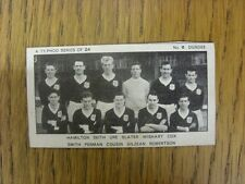 1962 Trade Card: Typhoo) Dundee - Team Group [Series Of 24  'Cut To Size' Card N