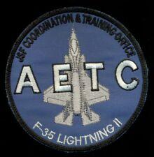 USAF F-35 Lightning 2 AETC JSF Coordination & Training Office Patch K-3