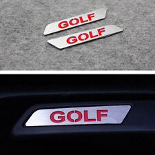 2Ps GOLF Lift Wrench Seat Insert Trim Car Sticker for VW GOLF MK5 6
