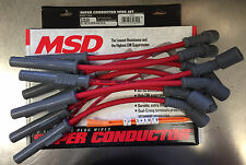 MSD 32829 8.5mm LS1 Truck Red Spark Plug Wire Set Chevy GMC Avalanche Silverado