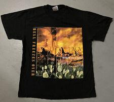 Vintage Original 1990s The Eagles World Tour T-Shirt Hell Freezes Over Concert
