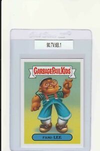 Garbage Pail Kids Fami Lee 6b GPK 2019 We Hate The 90s trading card sticker