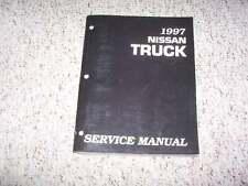1997 Nissan Pickup Truck Shop Service Repair Manual XE SE King Cab 2.4L 4WD