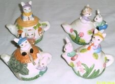 New Easter Themed Tea Pot Set Easter Toy Playset
