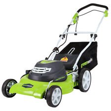 GreenWorks MO12B00 20-Inch 12-Amp Heavy Duty Electric Brushless Mower - 2507602
