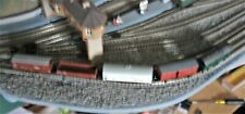 5 Continental N gauge wagons (Minitrix ,2xArnold etc) not Fleischmann