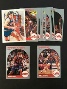1990/91 NBA Hoops Cleveland Cavaliers Team Set 15 Cards