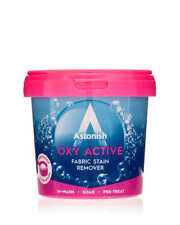 More details for 3x 650g astonish oxy active removes tough stains fabric stain remover 1950g