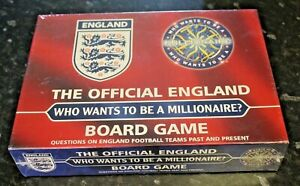 NEW The Official England Who Wants To Be A Millionaire? Board Game Sealed