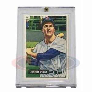 1x PRO-MOLD 1951-1952 Bowman Baseball Card 1-Screw Holder (5 Year+ UV) PM-PC51