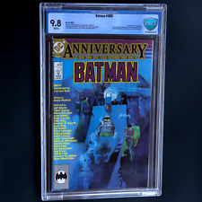 BATMAN #400 (DC 1986) 💥 9.8 WHITE PGs CBCS 💥 Anniversary Issue! Stephen King
