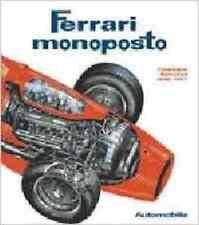 FERRARI MONOPOSTO CATALOGUE RAISONNE 1948-1997, HARDBOUND, NEW RACE CAR BOOK