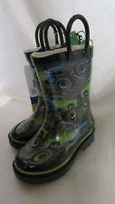 INFANT BOY`S WESTERN CHIEF WATER PROOF BOOTS SIZE 5C NEW GREY