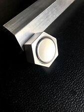 """Mini /micro Fidget Spinner In Aluminum """"HEX"""" Design"""