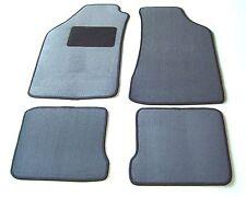 Passform-Velours-Fußmatten für VW Golf II / Golf 2 grau