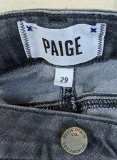 Paige Women's Verdugo Ultra Skinny Jeans Gray Washed Denim Size 29 Grey