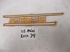NOS Yamaha 1973-1974 TX750 Decal Emblem 341-21784-00-00