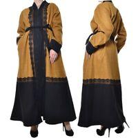 Damen Kaftan Caftan Abaya Takchita Mante Orientalisch Warm 44 46 48 50 52