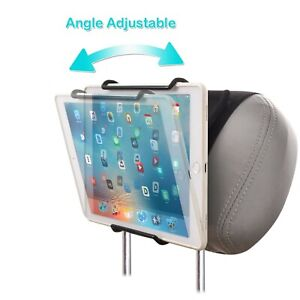 WANPOOL Universal Car Headrest Mount Holder with Angle-Adjustable Clamp - for...