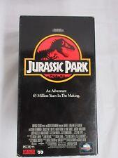 "Vtg  ""Jurassic Park ""  Starring Sam Neill Laura Dern 1993 VHS"