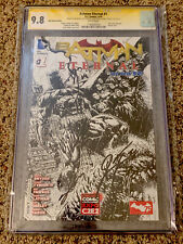 Batman: Eternal #1 CGC SS 9.8 Sketch Signed Seeley, Snyder, Fabok, and Tynion IV
