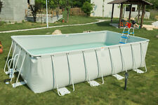 "18'x9'x52"" Above Ground Family Swimming Pool Fast Set Pool w/Pump Ladder"