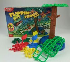 Flippin' Frogs Board Game Replacement Parts Pieces Launchers Tree Base Board Top