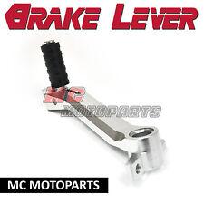 Silver CNC Billet rear brake pedal lever For Ducati 748 749 916 996 998 999 S R