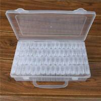 64 Pot Diamond Painting Storage Boxes Bead Organiser Tray Beads Embroidery Case