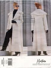 VOGUE Misses' Petite Coat Montana Pattern 2164 Size 18-22 UNCUT