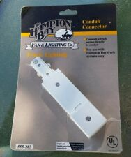 Hampton Bay Conduit Connector Track Lighting 555-283 New in Package