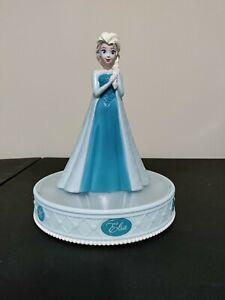 Elsa Frozen Singing Coin Bank 2014 Disney lights up