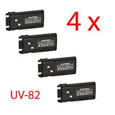 4 X BAOFENG UV-8R BL-8 2800mAh 7.4V Li-Ion Battery for UV-82 UV-82X UV-82C Radio
