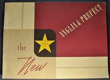 1954 English Ford Anglia & Prefect Catalog Brochure Nice Original 54