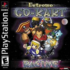 Extreme Go-Kart Racing NTSC-U/C US USA Sony Playstation PSX PS1 Mario Kart Style