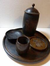 Boites et tabatières de collection en bois