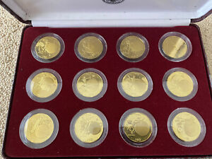 Wonders Of The Solar System, 12 x $10 Marshall Islands, 1994, The complete set!