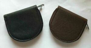 MENS WOMEN COIN WALLET PURSE FAUX LEATHER CHANGE SMALL POUCH TRAY COIN PURSE zip