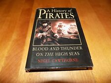 A HISTORY OF PIRATES BLOOD AND THUNDER ON HIGH SEAS Pirate Buccaneer Book