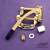 "Vibrato Bigsby  B5 Gold ""Fer à Cheval"" (for Telecaster Gibson SG..) B5G"