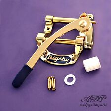 "VIBRATO BIGSBY B5 GOLD ""Fer à Cheval"" (for TELECASTER, Gibson SG..) B5G"