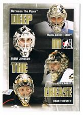 2010-11 10-11 Between The Pipes Deep in the Crease Insert Pick From List !!