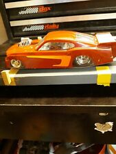 DRAG CAR  RED  S/STEEL FRAME 1/24  All cars will be track Ready to run.
