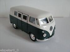VW Microbus (1962) Verde/blanco,Welly Auto Modelo aprox. 1 :3 8 ,NUEVO,emb.orig