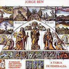 A Tábua de Esmeralda [PA] by Jorge Ben (CD 1998, Universal) IMPORT VG