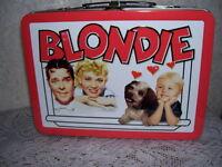 2008 Metal Lunchbox Blondie Penny Singleton & Arthur Lake